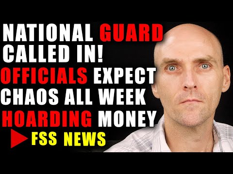 NATIONAL GUARD [ALERT] - CHAOS SET TO IGNITE ACROSS AMERICA - CITIZENS ARE HOARDING MONEY AND GOLD