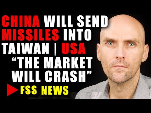 [RED ALERT] THE ECONOMY WILL COLLAPE WITHOUT STIMULUS - CHINA MISSILE LAUNCH ON TAIWAN | USA