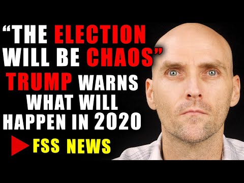 [WARNING] TRUMP WARNS OF CHAOS DURING PRESIDENTIAL ELECTION - STOCK MARKET SEES VIOLENCE IN NOVEMBER