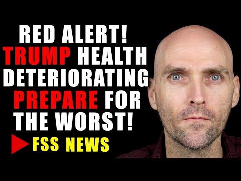 RED ALERT! TRUMP HAVING BREATHING DIFFICULTIES! US MILITARY PREPARING FOR WORST CASE SCENARIO