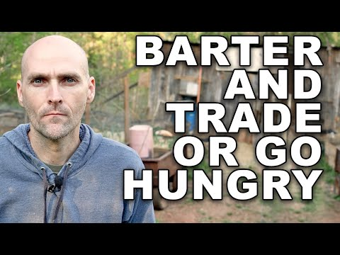 GET BY WITH LESS! LEARN HOW TO BARTER AND TRADE OR GO HUNGRY - MY EXPERIENCE USING TRADING