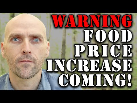 MASSIVE GROCERY STORE PRICE SHOCK COMING - EXPERTS WARNING THAT THIS WILL CAUSE UNREST AND SHORTAGES