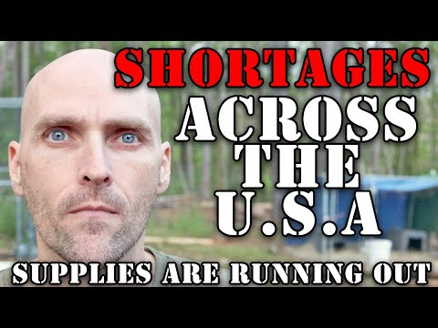 SUPPLY SHORTAGES ACROSS THE ENTIRE USA - QUALITY DECREASING - THINGS ARE GETTING BAD