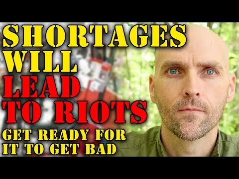 URGENT! SHORTAGES OF GAS, METAL, LUMBER, AND GOODS ACROSS THE USA - EMPTY SHELVES WILL LEAD UNREST