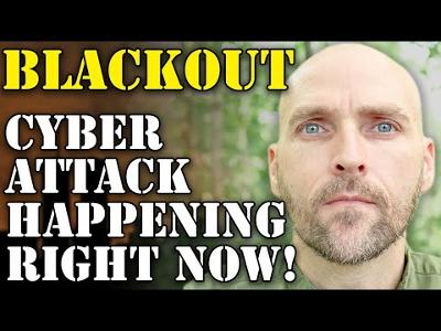 BLACKOUT! CYBER ATTACK SENDS 900,000 INTO DARKNESS - GET READY TO BE WITHOUT POWER