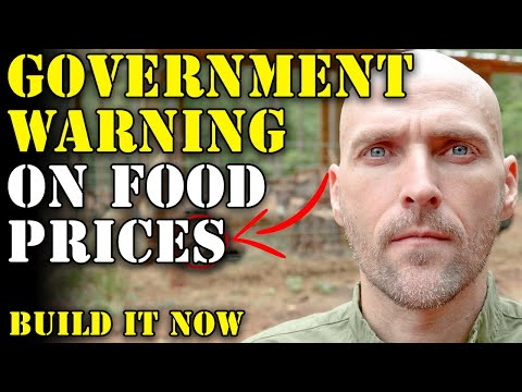 GOVERNMENT WARNING THAT FOOD PRICES ARE INCREASING - GETTING SURGERY BEFORE SHTF - BUILD COMMUNITY!