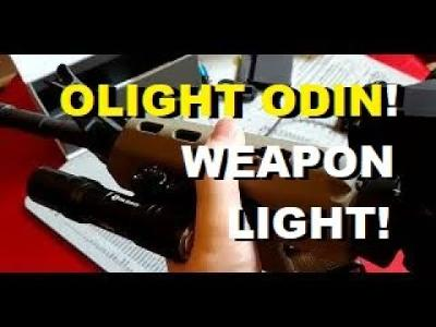 Olight Odin Weapon Light: 2000 lumen BEAST and a lot of Extras!