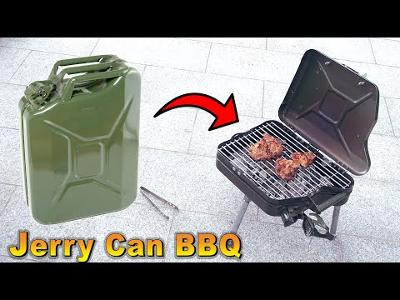 How to build a BBQ Grill (DIY Jerry Can)