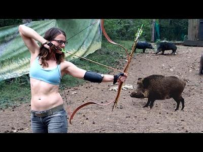 Shooting a BOW from the RIGHT Side for the First Time