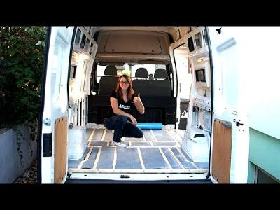 Campervan DIY Floor with Armaflex (Ford Transit Conversion)