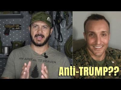 Marine Colonel is in the BRIG & Anti-TRUMP Post