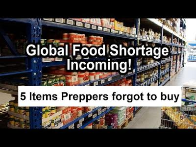 5 Items Every Prepper Should Have (Food Shortage and Blackout Prep)