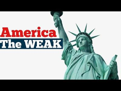 Americans have become WEAK