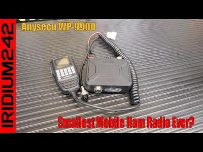 Anysecu WP 9900 Mini Mobile Radio   Super Small Radio!