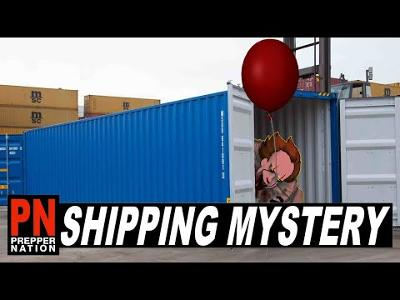 Are the Shipping Containers a Trojan Horse?