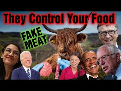 Bill Gates Want You To Eat Fake Meat, Global Warming Scam