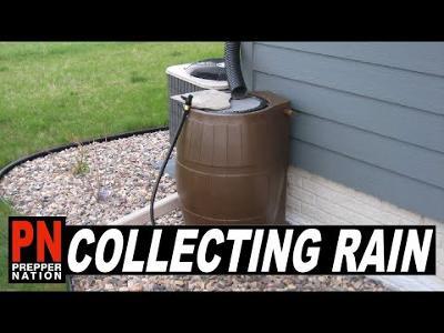 Collecting Rain During SHTF