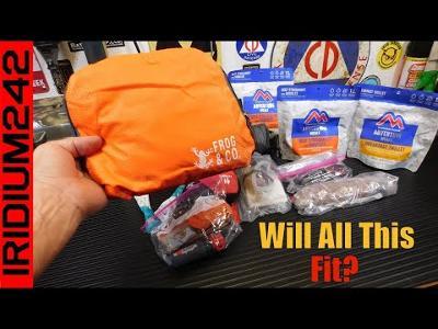 Handy Prepper Item - Pocket Backpack by Survival Frog!