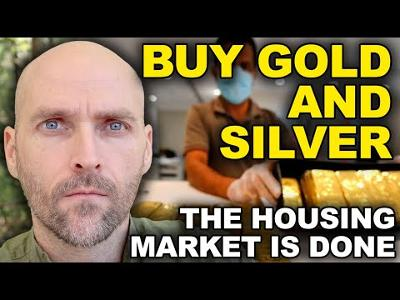 HOUSING MARKET IN CRISIS - PEOPLE ARE USING GOLD TO BUY FOOD - THE US GOVERNMENT IS GETTING READY