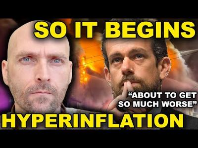 HYPERINFLATION INCOMING - TWITTER CEO LEAVES MASSIVE WARNING - CHINA AND RUSSIA WARNING THE USA