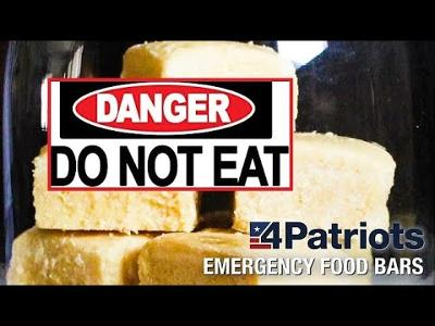 Is the 4Patriots Emergency Bar the WORST survival food in the WORLD ??