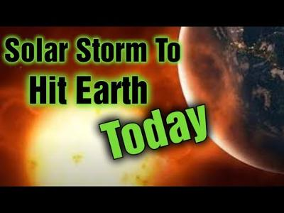 Massive Solar Storm Inbound Power Grid Failures Expected