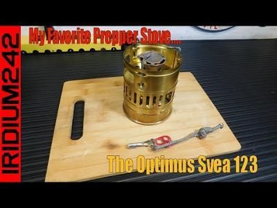My Favorite Prepper Stove: The Optimus Svea 123
