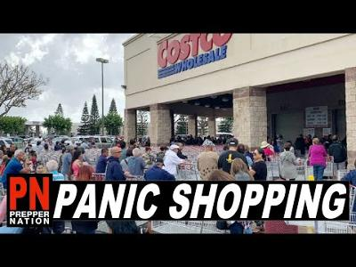 Panic Shopping is Here - Welcome to SHTF