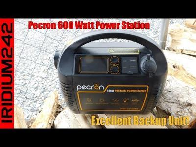 Power Preps: Pecron 600 Watt Portable Power Station