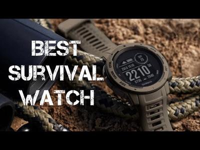 The Best SURVIVAL Watch : Garmin Tactical Instinct