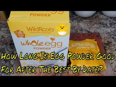 THIS EGG POWDER IS 17 MONTHS PAST THE BEST BY DATE & I'M COOKING IT WITH EIGHT YEAR OLD GHEE