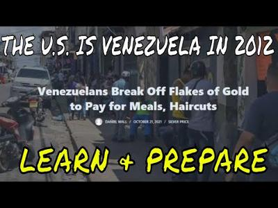 VENEZUELAS CURRENCY HAS LOST SO MUCH VALUE THAT PAYING FOR MEALS & HAIRCUTS IS NOW DONE WITH GOLD