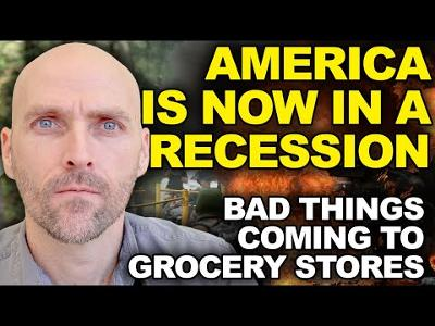 WARNING: AMERICA ENTERED INTO A RECESSION - SOMETHING BAD IS HAPPENING AT THE GROCERY STORE