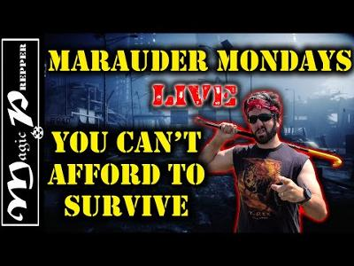 You Can't Afford To Survive LIVE With Magic Prepper